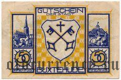 Букстехуде (Buxtehude), 50 пфеннингов (1921) года