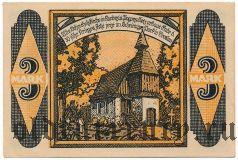 Кендзежин-Погоржелиц (Kandrzin-Pogorzelletz), 3 марки 1921 года