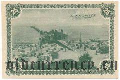 Цинновиц (Zinnowitz), 25 пфеннингов 1921 года