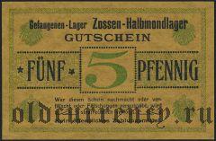 Германия, Zossen-Halbmondlager, 5 пфеннингов