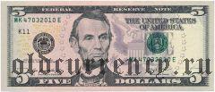 США, 1.000.000 долларов 1996 года. Сувенирная банкнота