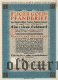 Thüringischen Landes-hypothekenbank, Weimar, 1000 goldmark 1930