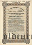 Zentrale fur Bodenkulturkredit, Berlin, 1000 goldmark 1930