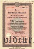 Mecklenburgischen Hypotheken- und Wechselbank, 500 reichsmark 1941