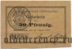 Остерхофен (Osterhofen), 50 пфеннингов 1917 года
