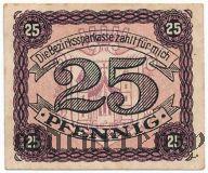 Мелльрихштадт (Mellrichstadt), 25 пфеннингов