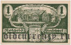 Винзебек (Vinsebeck), 1 марка 1921 года