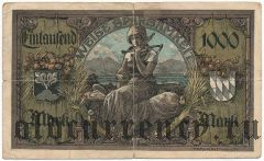 Траунштайн (Traunstein), 1000 марок 1922 года