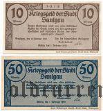 Заульгау (Saulgau), 2 нотгельда 1918 года