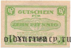Лерте (Lehrte), 10 пфеннингов 1921 года