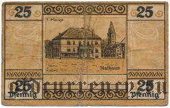 Зондерсхаузен (Sondershausen), 25 пфеннингов 1921 года