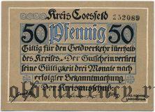 Косфельд (Coesfeld), 50 пфеннингов (1920) года