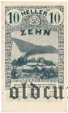 Австрия, Лилиенфельд (Lilienfeld), 10 геллеров 1920 года