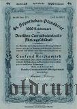Deutschen Centralbodenkredit, Berlin, 4%, 1000 reichsmark 1941