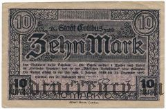 Котбус (Cottbus), 10 марок 1918 года
