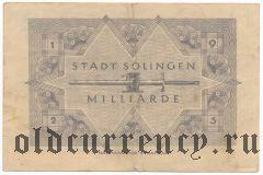 Золинген (Solingen), 1.000.000.000 марок 1923 года