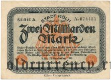 Кёльн (Köln), 2.000.000.000 марок 1923 года