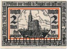 Витдюн (Wittdün), 2 марки (1921) года
