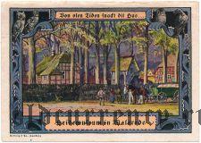 Вальсроде (Walsrode), 1 марка 1922 года