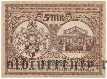 Байройт (Bayreuth), 5 марок 1918 года