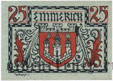 Эммерих (Emmerich), 25 пфеннингов 1920 года