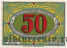 Гнарренбург (Gnarrenburg), 50 пфеннингов (1921) года