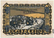 Фрохз (Frohse), 50 пфеннингов 1921 года