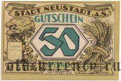 Нойштадт (Neustadt), 50 пфеннингов 1920 года