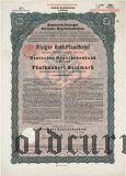 Deutschen Hypothekenbank, Meiningen, 8% iger Gold Pfandbrief, 500 goldmark 1928