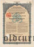 Deutschen Hypothekenbank, Meiningen, 7% iger Gold Pfandbrief, 1000 goldmark 1926