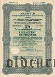MANSFELD, Eisleben, 1000 reichsmark 1939