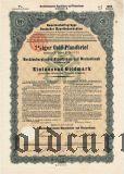 Mecklenburgischen Hypotheken- und Wechselbank, 1000 goldmark 1926