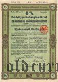 Sachsischen Bodencreditanstalt, 6%, 1000 goldmark 1927