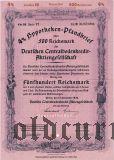 Deutschen Centralbodenkredit, Berlin, 4%, 500 reichsmark 1940