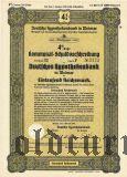 Deutschen Hypothekenbank in Weimar, 1000 reichsmark 1940