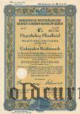 Rheinisch-Westfalische Boden-Credit-Bank in Koln, 4%, 100 рейхсмарок 1942