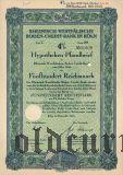 Rheinisch-Westfalische Boden-Credit-Bank in Koln, 4%, 500 рейхсмарок 1940