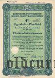 Rheinisch-Westfalische Boden-Credit-Bank in Koln, 4%, 500 рейхсмарок 1942