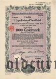 Rheinisch-Westfalische Boden-Credit-Bank in Koln, 8%, 1000 рейхсмарок 1930