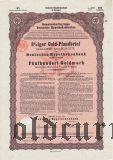 Deutsche Hypothekenbank, Meiningen, 500 goldmark 1928