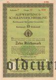 Kreditanstalt Sachsischer Gemeinden, 10 reichsmark 1931