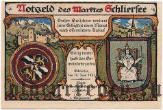 Шлирзе (Schliersee), 25 пфеннингов 1921 года