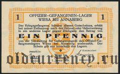 Германия, Wiesa bei Annaberg, 1 пфеннинг 1916 года