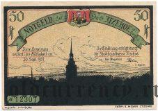 Итцехо (Itzehoe), 50 пфеннингов 1921 года