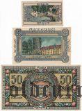 Мюннерштадт (Münnerstadt), 3 нотгельда