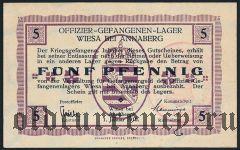 Германия, Wiesa bei Annaberg, 5 пфеннингов 1916 года
