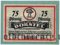 Борстель (Borstel), 75 пфеннингов