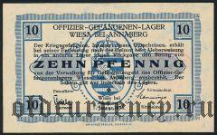 Германия, Wiesa bei Annaberg, 10 пфеннингов 1916 года