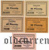 Айденбах (Aidenbach), 5 нотгельдов 1917 года
