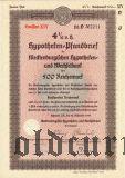 Mecklenburgischen Hypotheken- und Wechselbank, 500 reichsmark 1939